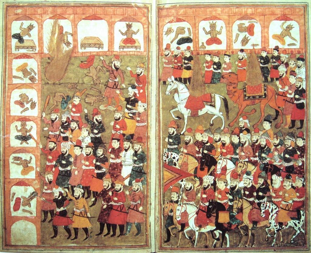 Mohamed elpusztítja a bálványokat