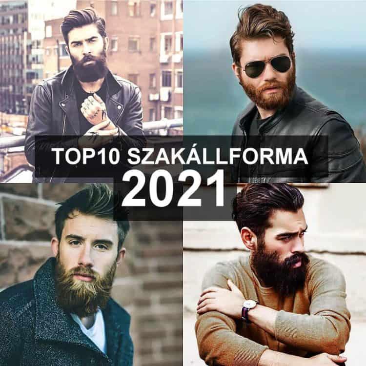 TOP 10 szakállforma