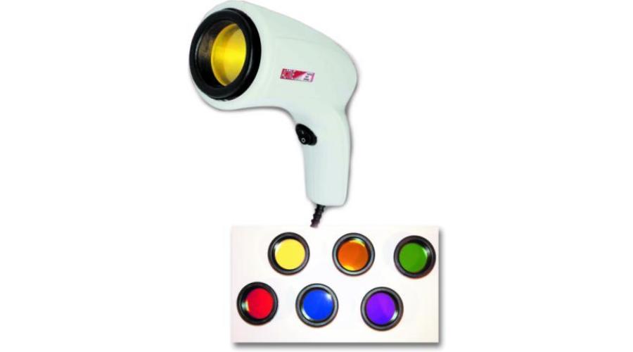 fényterápiás lámpa