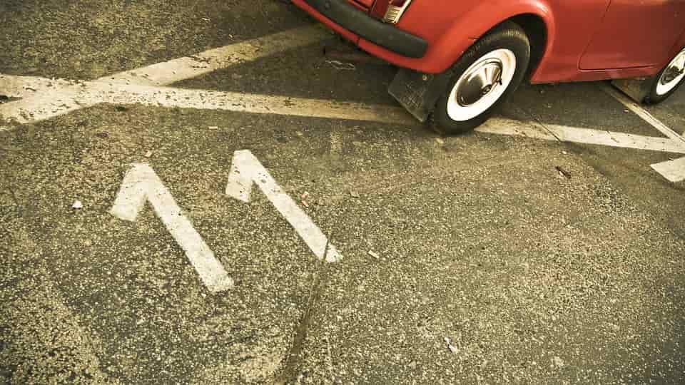 reptéri parkoló Vecsésen
